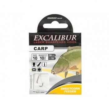 EXCALIBUR SNELLED HOOK CARP...
