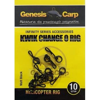 GENESIS CARP KWIK CHANGE O RIG