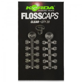 KORDA FLOSS CAPS CLEAR