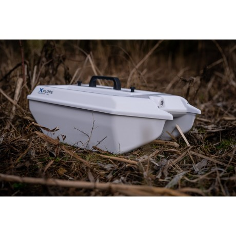 XPLORE BAITBOAT MKII WHITE RAYMARINE DRAGONFLY 5 PRO & BERNS GNSS ZESTAW AUTOPILOTA V2