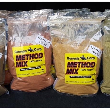 Genesis Carp Fluo-Vit MethodMix TUTTI-FRUTTI 0,9kg
