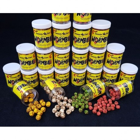 Genesis Carp WormBall Pineapple 8mm