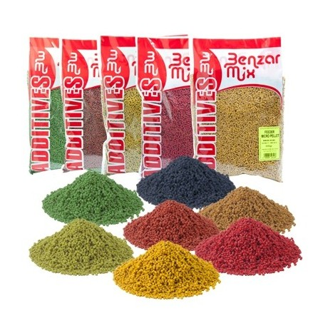 BENZAR FEEDER MICRO PELLET 800GR BLACK HALIBUT
