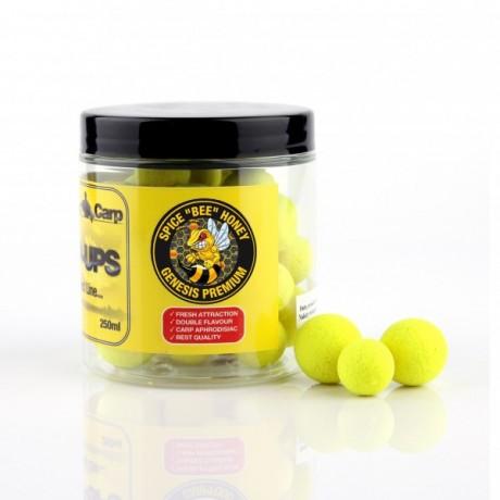 GENESIS CARP FLUO PERFECT POP-UP Spice BEE Honey 12-15mm