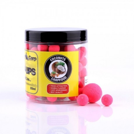 GENESIS CARP FLUO PERFECT POP-UP Coconuts 12-15mm