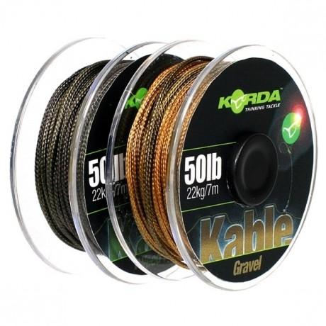 KORDA Kable Leadcore Weed/Silt 7m