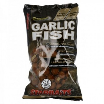STARBAITS GARLIC FISH 20MM 1KG