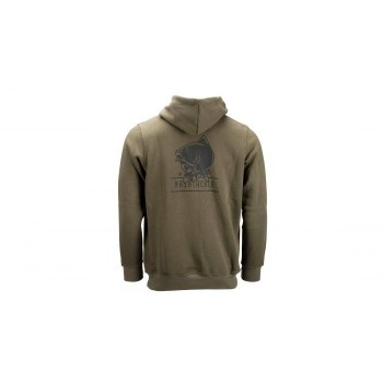 NASH TACKLE HOODY GREEN XL