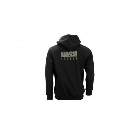 NASH TACKLE HOODY BLACK XL