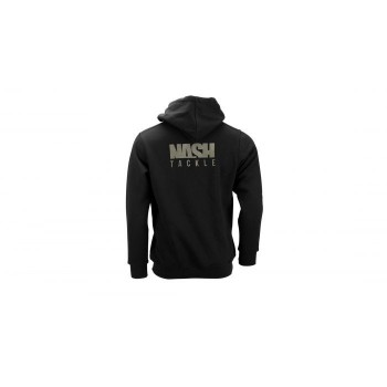 NASH TACKLE HOODY BLACK XXL
