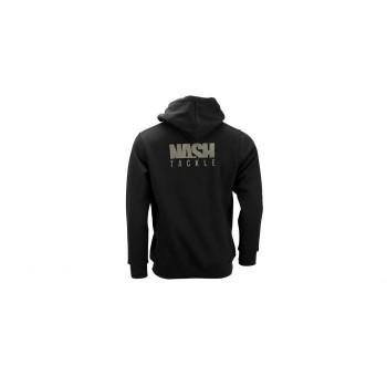 NASH TACKLE HOODY BLACK 5XL