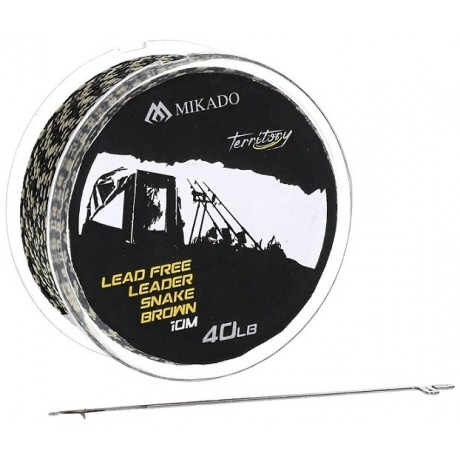 MIKADO LEAD FREE LEADER LEADCORE 40LB