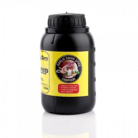 GENESIS CARP Power DIP 125ml Garlic Squid Spice